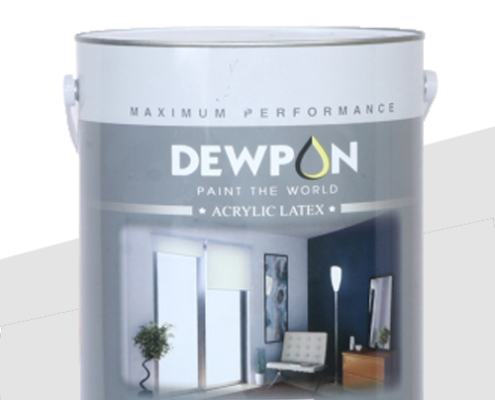 sơn dewpon nội thất sơn siêu bóng