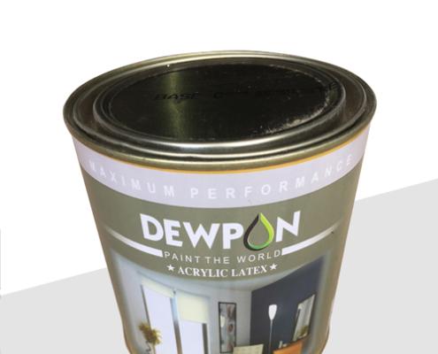 sơn dewpon nội thất siêu bóng