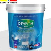 sơn dewpon eco green ngoại thất 18 lít