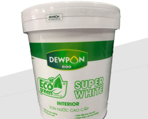Sơn dewpon eco green super white