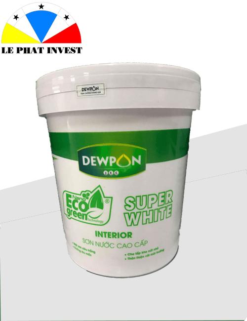 Sơn dewpon eco green super white