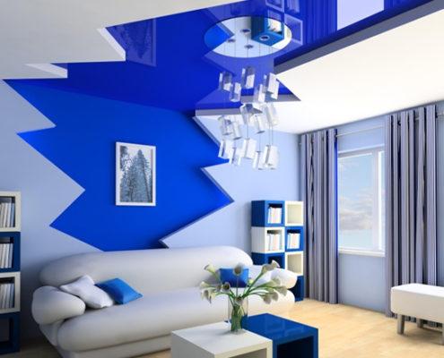 Thiết kế sơn màu nội thất cho người mệnh thủy