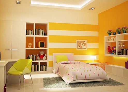 sơn dewpon màu vàng cam