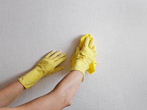 Lau trùi bề mặt trước khi sơn