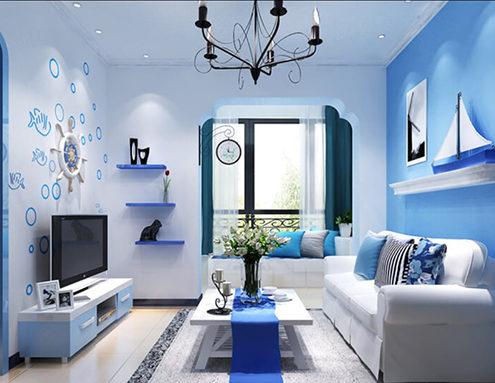 hướng dẫn chọn màu sơn cho phòng khách