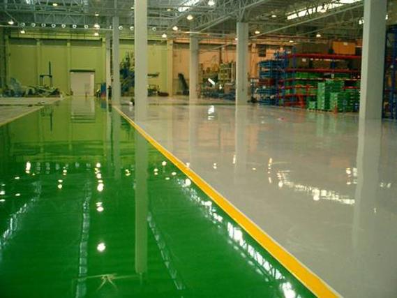 Các loại sơn sàn nhà xưởng
