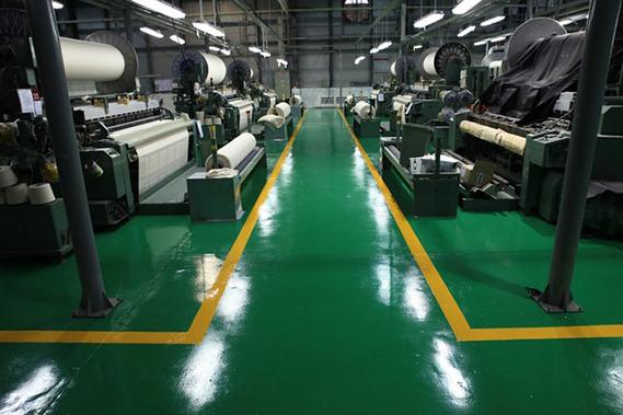 Sơn epoxy hệ lăn 3 lớp cho sàn nhà xưởng