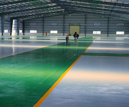 Sơn sàn nhà xưởng tại Bắc Ninh
