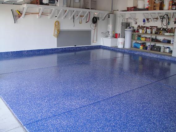 sơn sàn gara ô tô