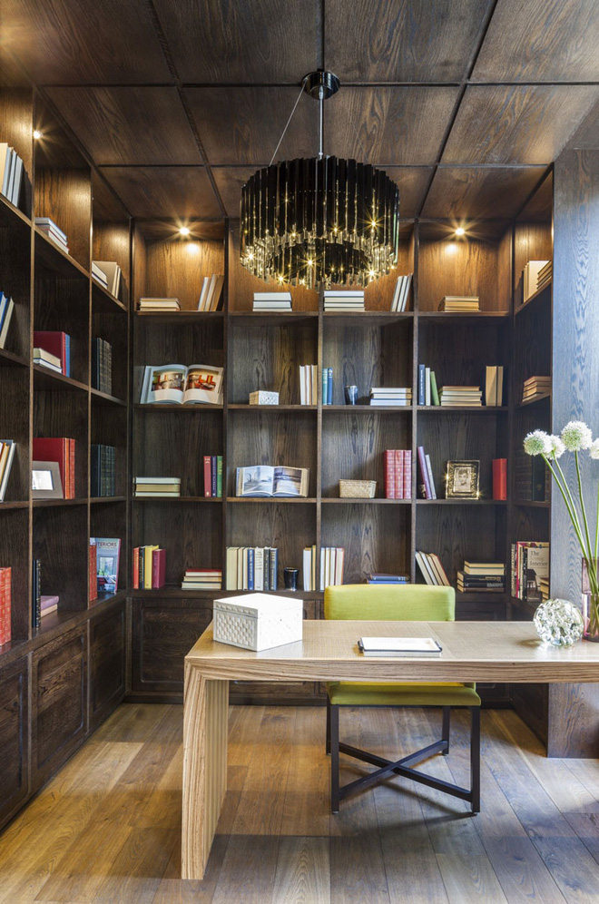 Đây hẳn là design phòng đọc trong mơ của các mọt sách
